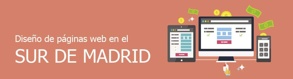 Diseño de páginas web en el sur de Madrid