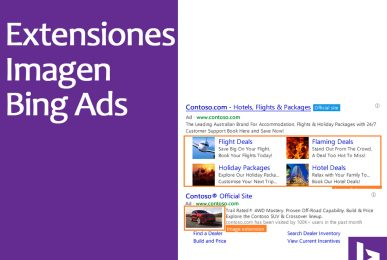 Bing Ads, extensiones de imagen