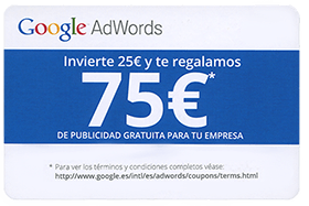 Cupon Google AdWords