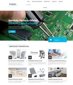 Diseño de página web para Servicio Técnico Zimmer