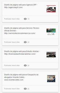 Novedad publicaciones en Google My business interacciones