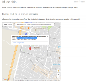 Reseña Google Local business