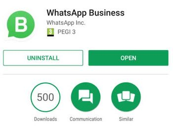 WhatsApp Business para empresas y negocios