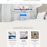 Diseño de página web para lavandería industrial