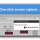 Cómo hacer captura de pantalla de página web completa