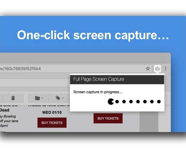 Cómo hacer captura de pantalla de página web