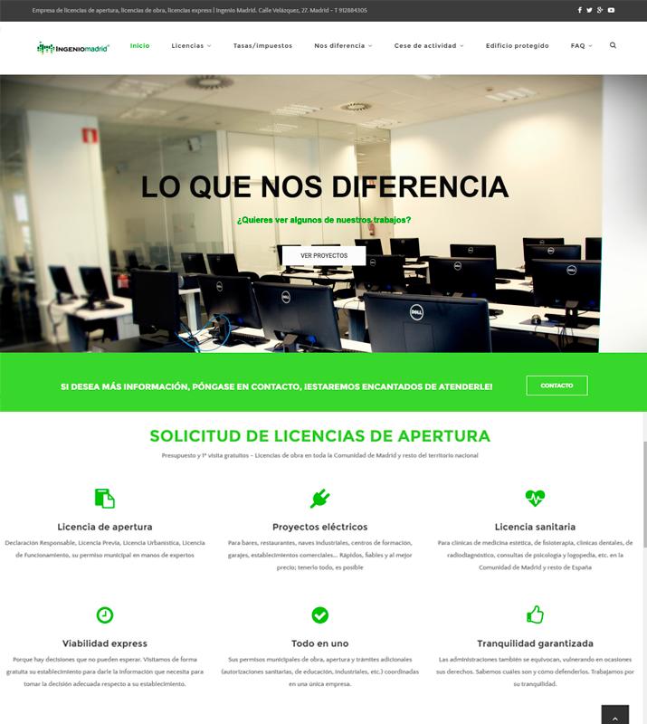 ba4fe688f Ejemplos de buen posicionamiento web | Diseño de páginas web en ...